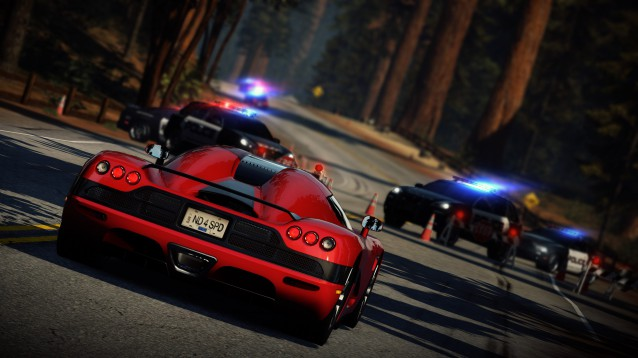 Need for Speed Hot Pursuit Screenshot 2