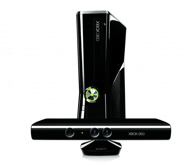 Die neue Xbox 360 mit dem Kinect Sensor