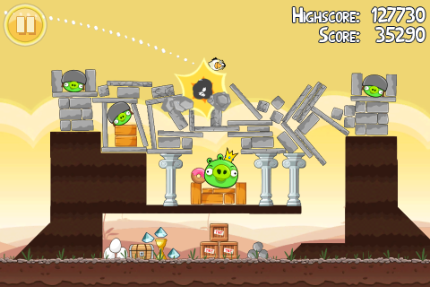 Angry Birds HD fürs iPAD