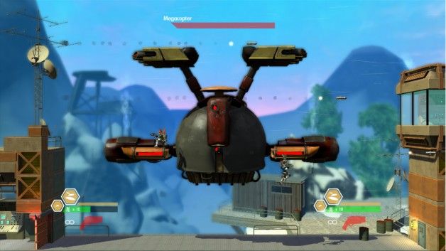Bionic Commando Rearmed 2 Screenshot Mega Copter