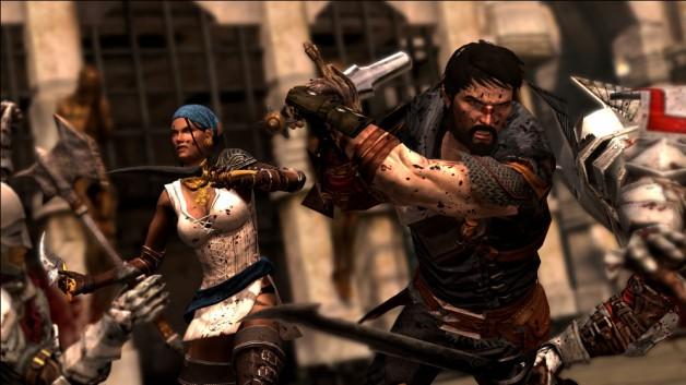 Dragon Age II Hawke Isabela Screenshot