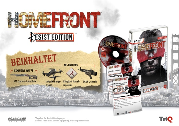 Homefront Resistance Pack PC