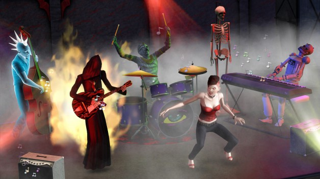 Sims Rock Screenshot