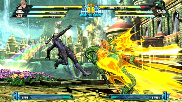 Marvel vs. Capcom 3: Fate of Two Worlds Jill