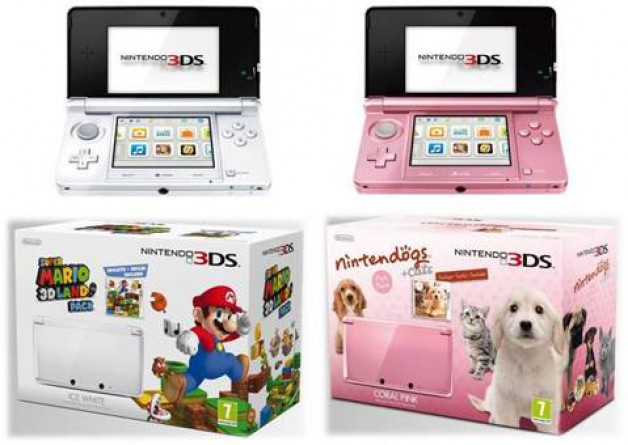 Nintendo 3DS in neuen Farben und Bundles « gamester.tv