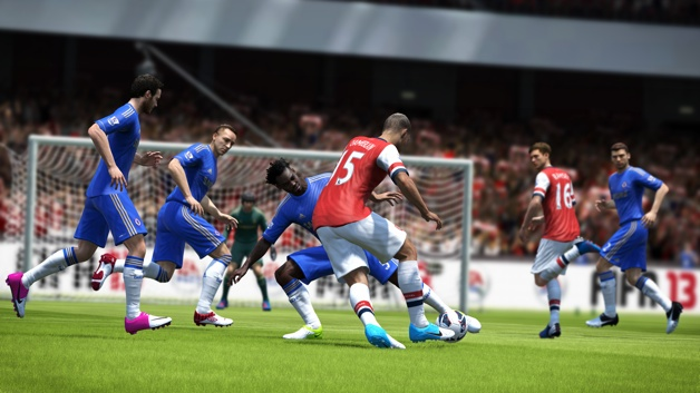 FIFA13_WiiU_Chamberlain_attacking