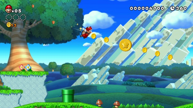 New Super Marios Bros U