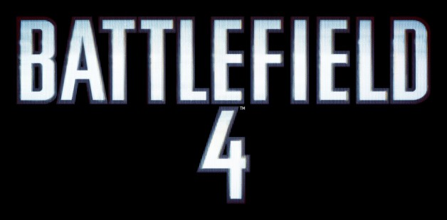 Battlefield 4 Logo Black
