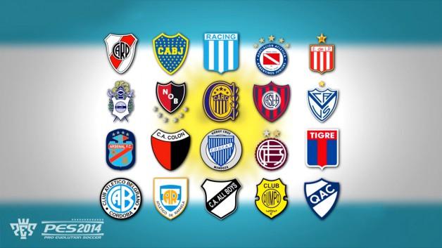 PES 2014 ArgentinaLeague