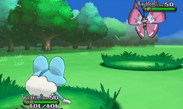 «Pokémon X» und «Pokémon Y»