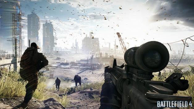 Battlefield 4 - Fishing in Baku screen 3