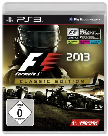 F1 2013 PS 3 Cover