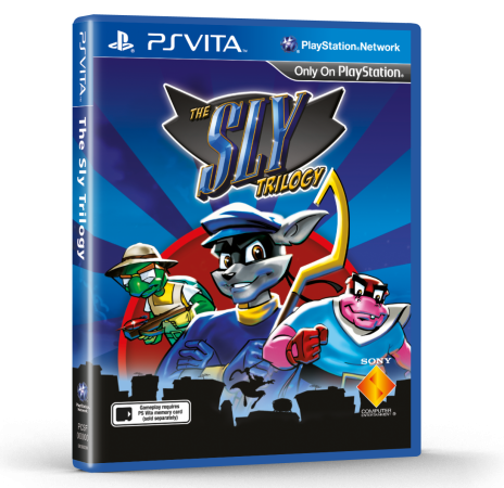 Sly Cooper Triilogy