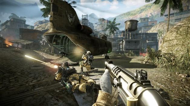 Warface Favela Setting