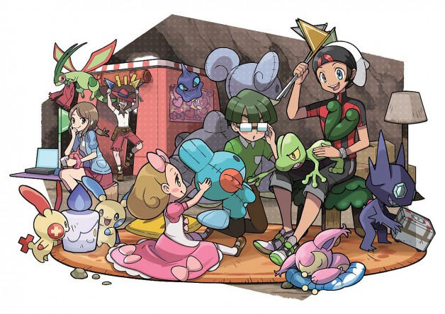 Pokemon-Geheime-Basis