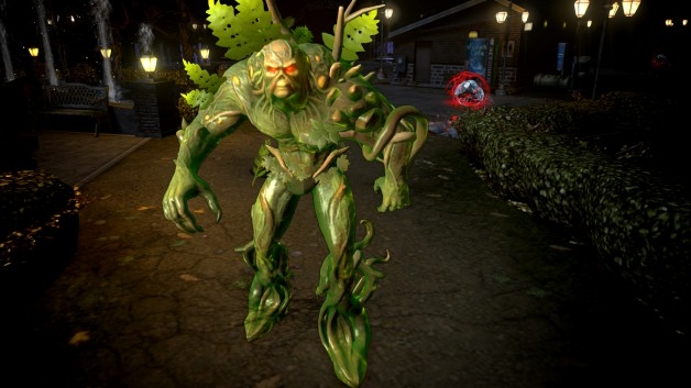 Infinite Crisis Swamp Thing
