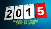 Games To Listen Best of 2015