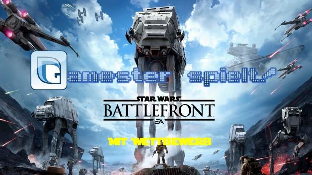Gamester spielt Star Wars Battlefront