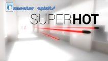 Gamester spielt Superhot