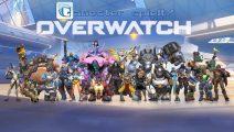 Gamester spielt Overwatch