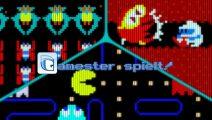 Gamester spielt Arcade Game Series